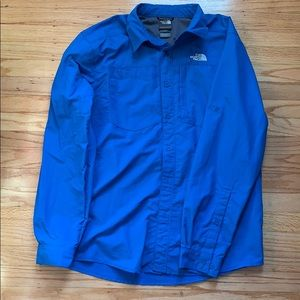 Nylon North Face button up